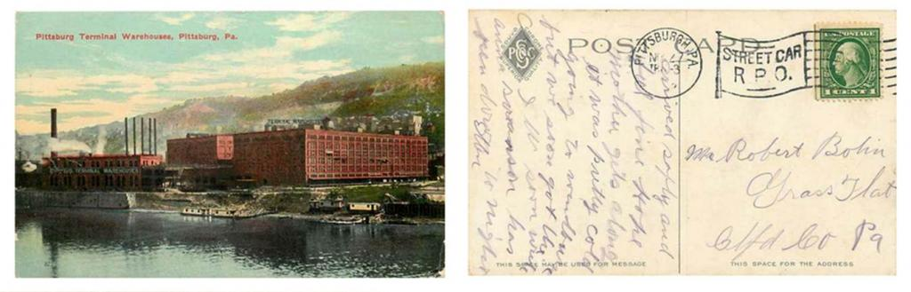 PTP postcard 13 1024x329 Discovering Our Pittsburgh Storage Roots